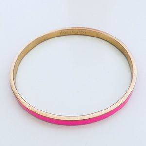 Kate Spade Hot Pink Bangle